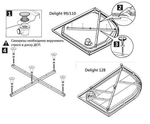 Душевая кабина из плитки: поэтапная инструкция по монтажу