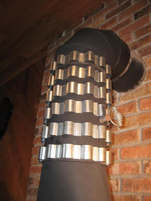 Воздушный теплообменник на дымоход своими руками: примеры изготовления и советы от мастеров