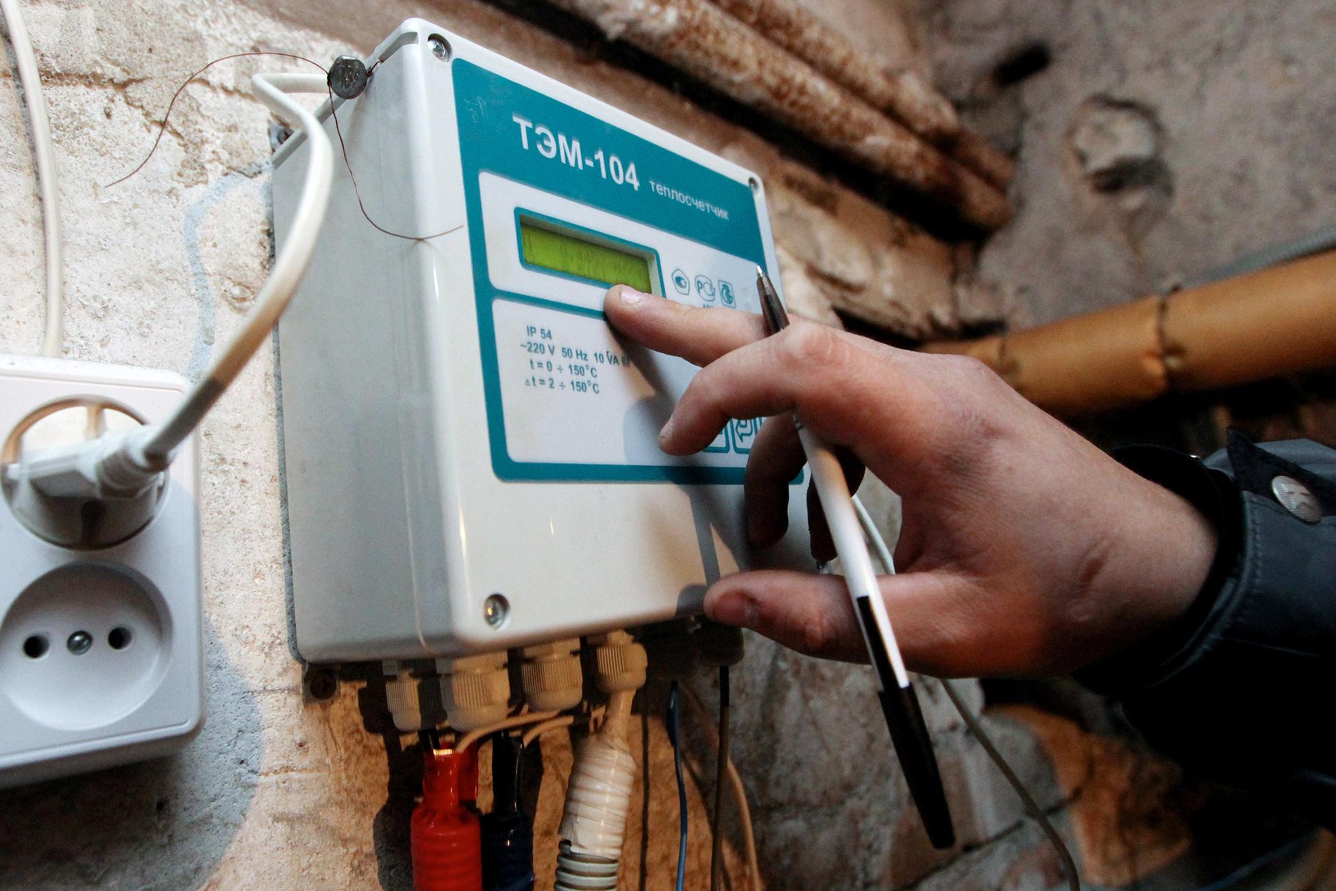 Как выполняется замена газового счетчика