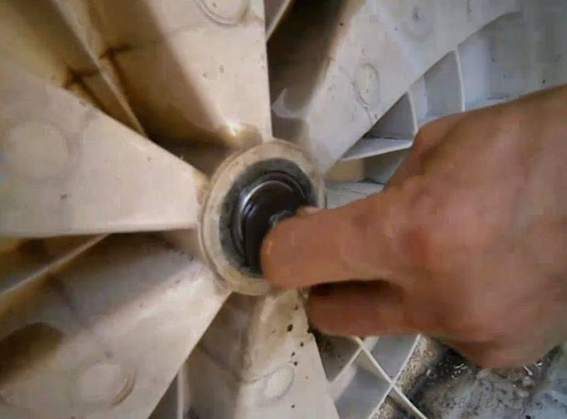 Замена подшипника в стиральной машине индезит: как снять и поменять подшипник барабана своими руками