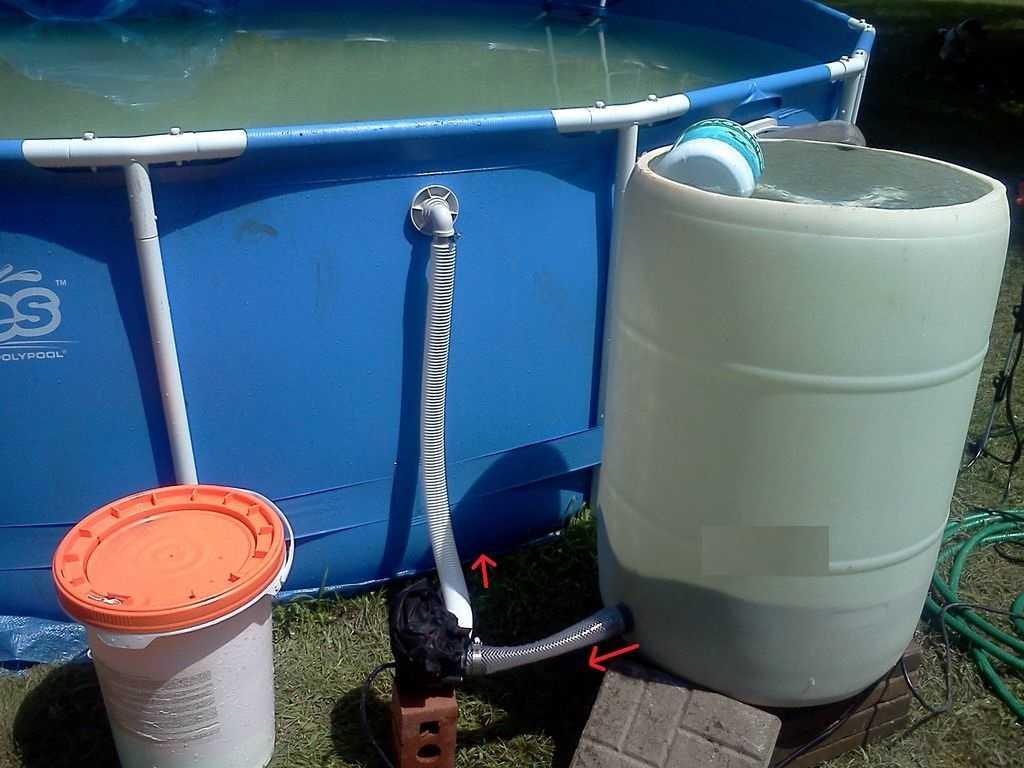 Песочный фильтр для бассейна своими руками: лучшие самоделки - точка j