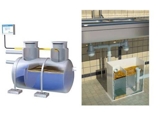 Выбор и установка жироуловителя на канализацию