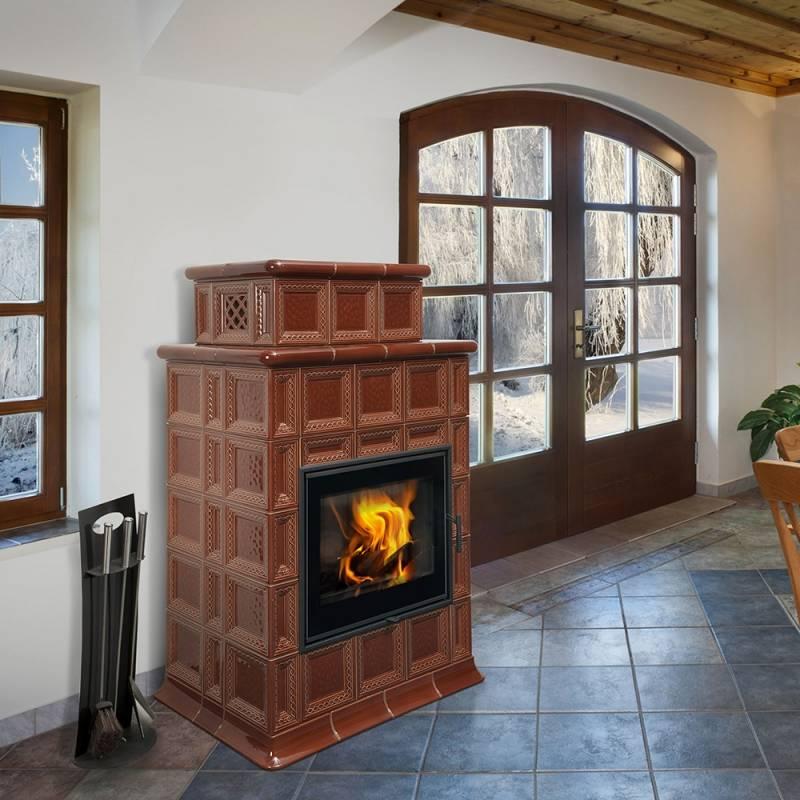 Как выбрать печь-камин с водяным контуром и подключить его к системе отопления дома своими руками