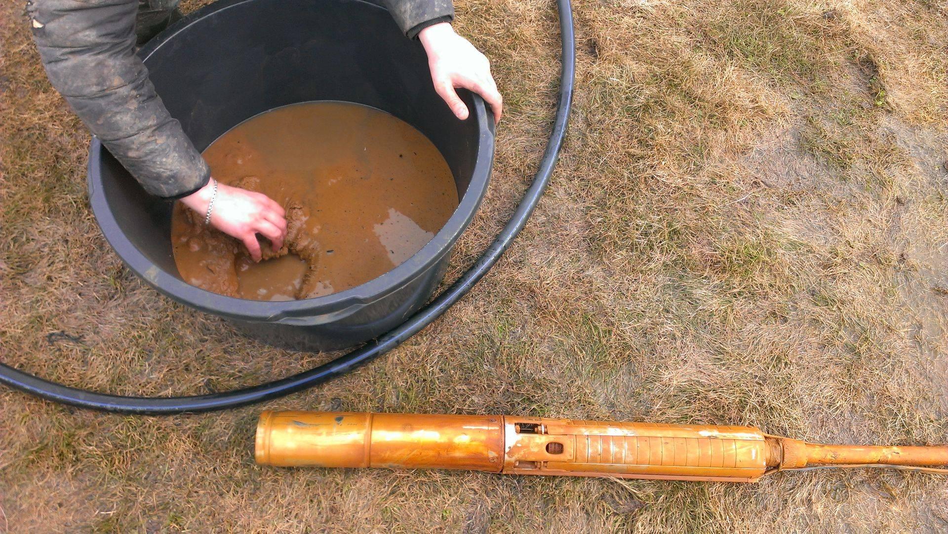 Как почистить скважину: технология чистки желонкой, насосом, эрлифтом или химическихи средствами