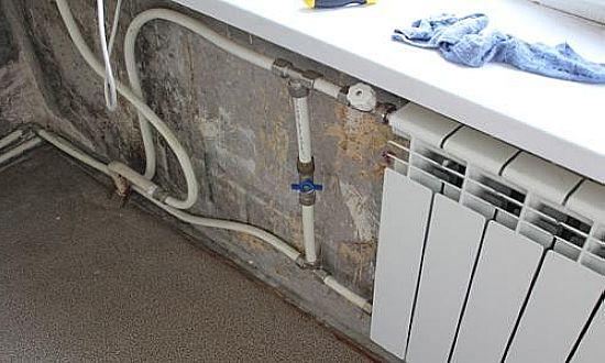 Перемычка на батарее отопления: зачем она нужна?