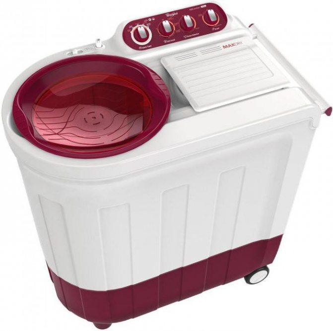 Как выбрать стиральную машину-полуавтомат с центрифугой