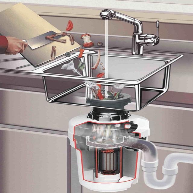 Измельчитель для раковины: как подобрать и установить устройство