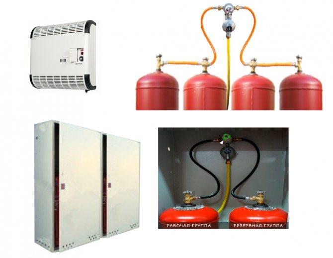 Как работает газовый котел на баллонном газе, особенности эксплуатации