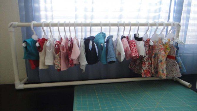 Как сделать напольную стойку-вешалку для одежды своими руками
