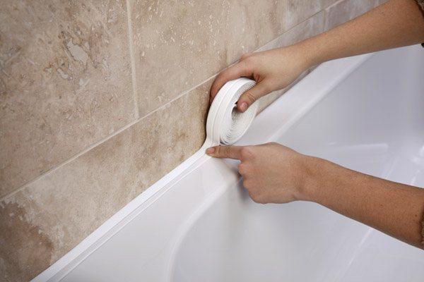 Пластиковые уголки для ванны и бордюры выбор, монтаж и установка