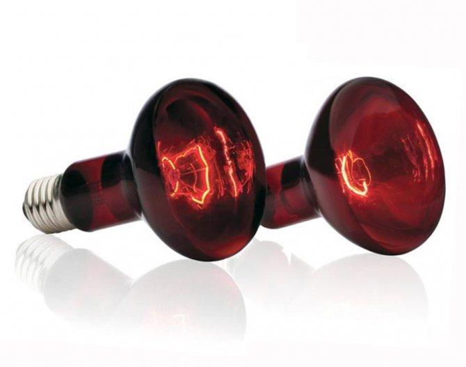 Использование инфракрасных ламп для обогрева помещений