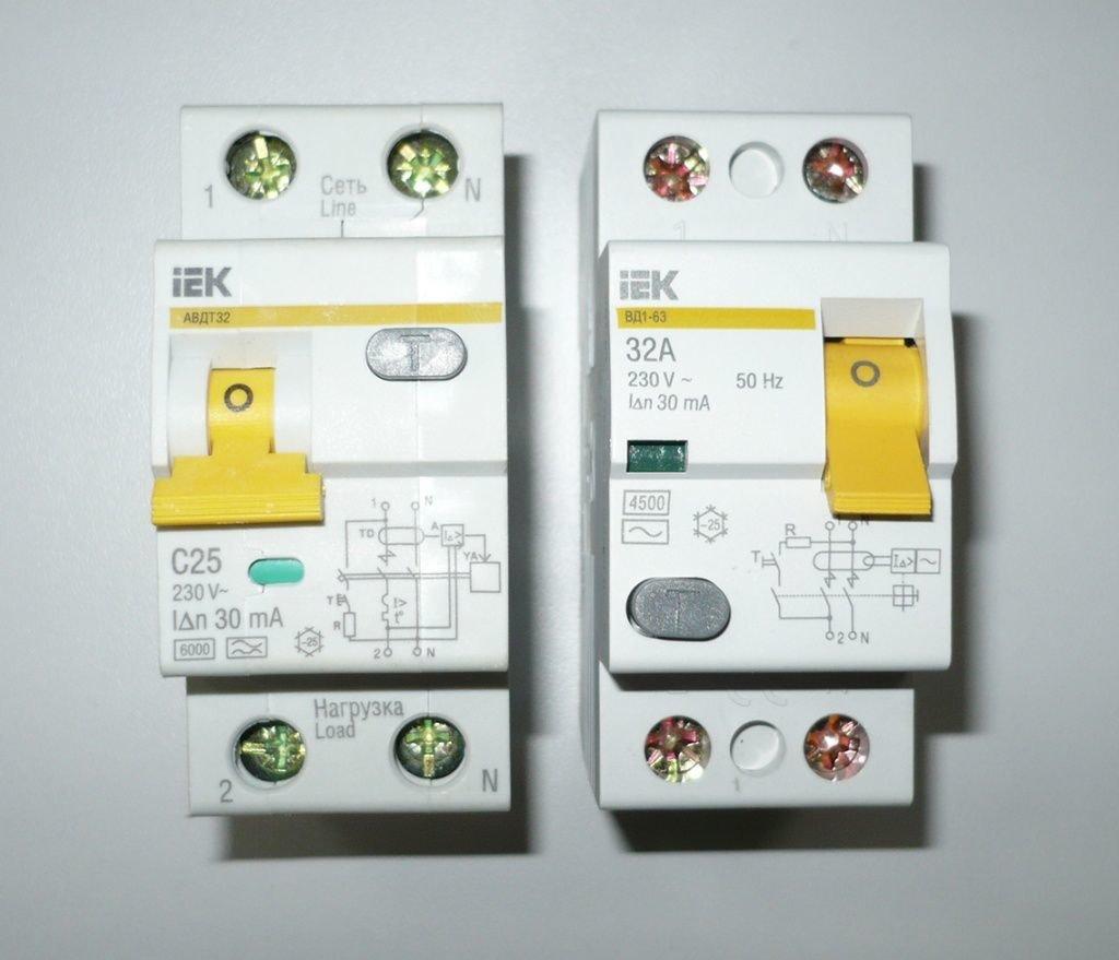 Дифавтоматы и узо: отличия, что лучше выбрать, и как установить