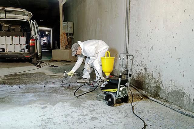 Смесь для заделывания трещин в бетоне. ремонт трещин в бетоне – выбираем способ