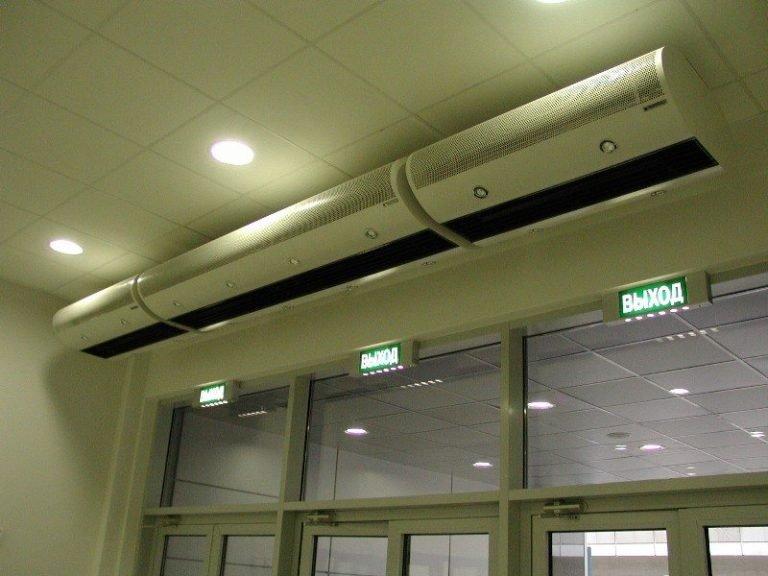 ☀ тепловая завеса на входную дверь: обзор популярных моделей