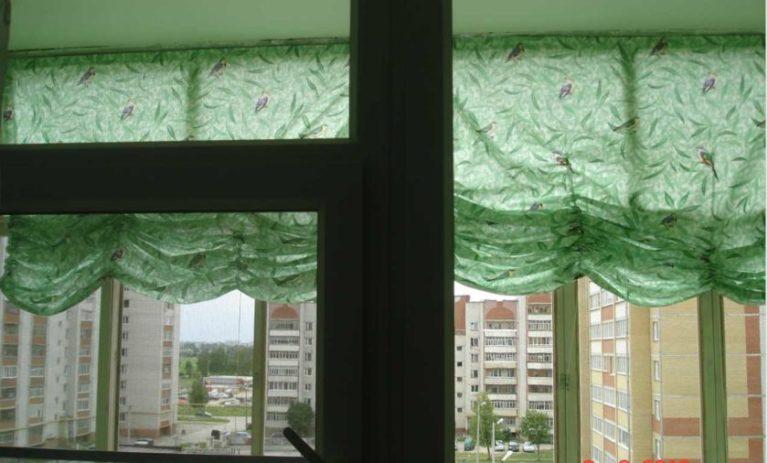 Шторы на балкон своими руками пошаговая инструкция