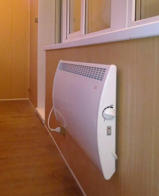 Схема подключения конвектора отопления и установка экрана