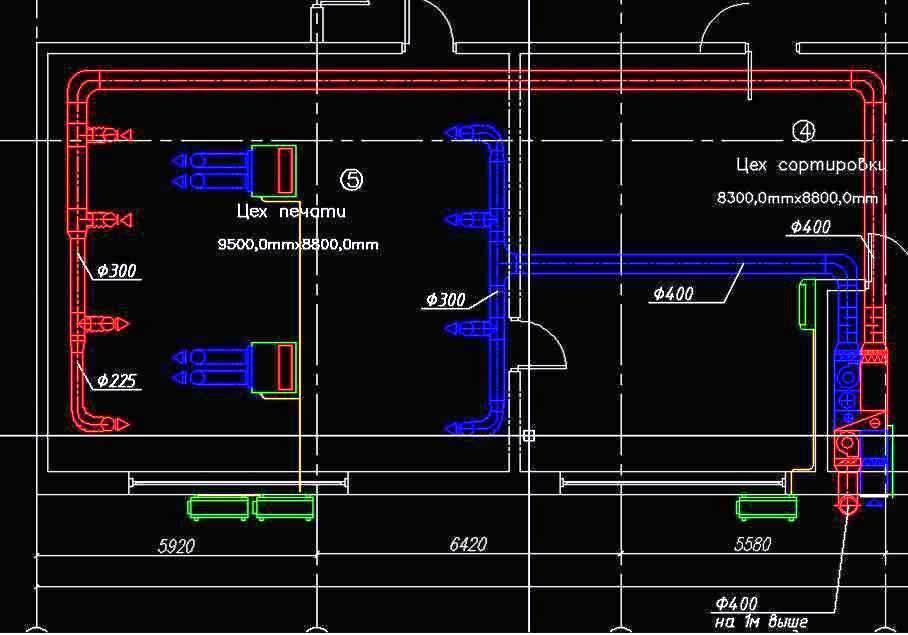 Нужно ли сро для проектирования вентиляции: системы кондиционирования и обозначение на чертежах