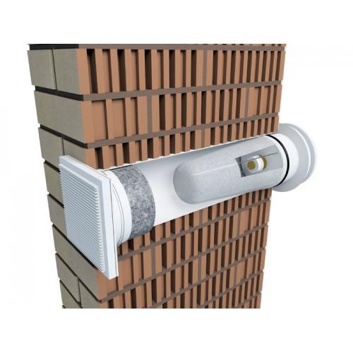 Клапан приточной вентиляции: установка вытяжного вентиляционного элемента в стену квартиры или жилого дома, выбираем стеновой обратный клапан