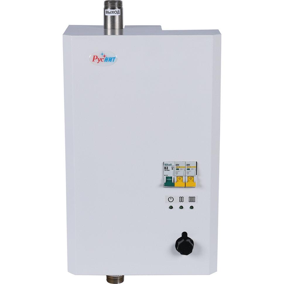 Характеристики и особенности электрических котлов отопления руснит серий м и нм