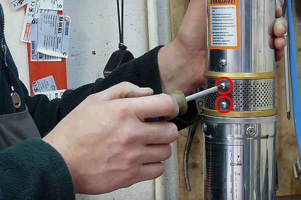 Ремонт скважинных насосов. что делать если не включается насос?