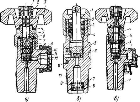 Устройство вентиля газового баллона и его замена на баллоне - точка j