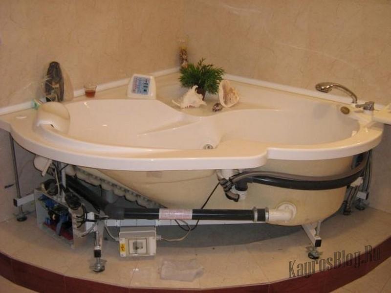 Ремонт гидромассажных ванн: сам себе мастер
