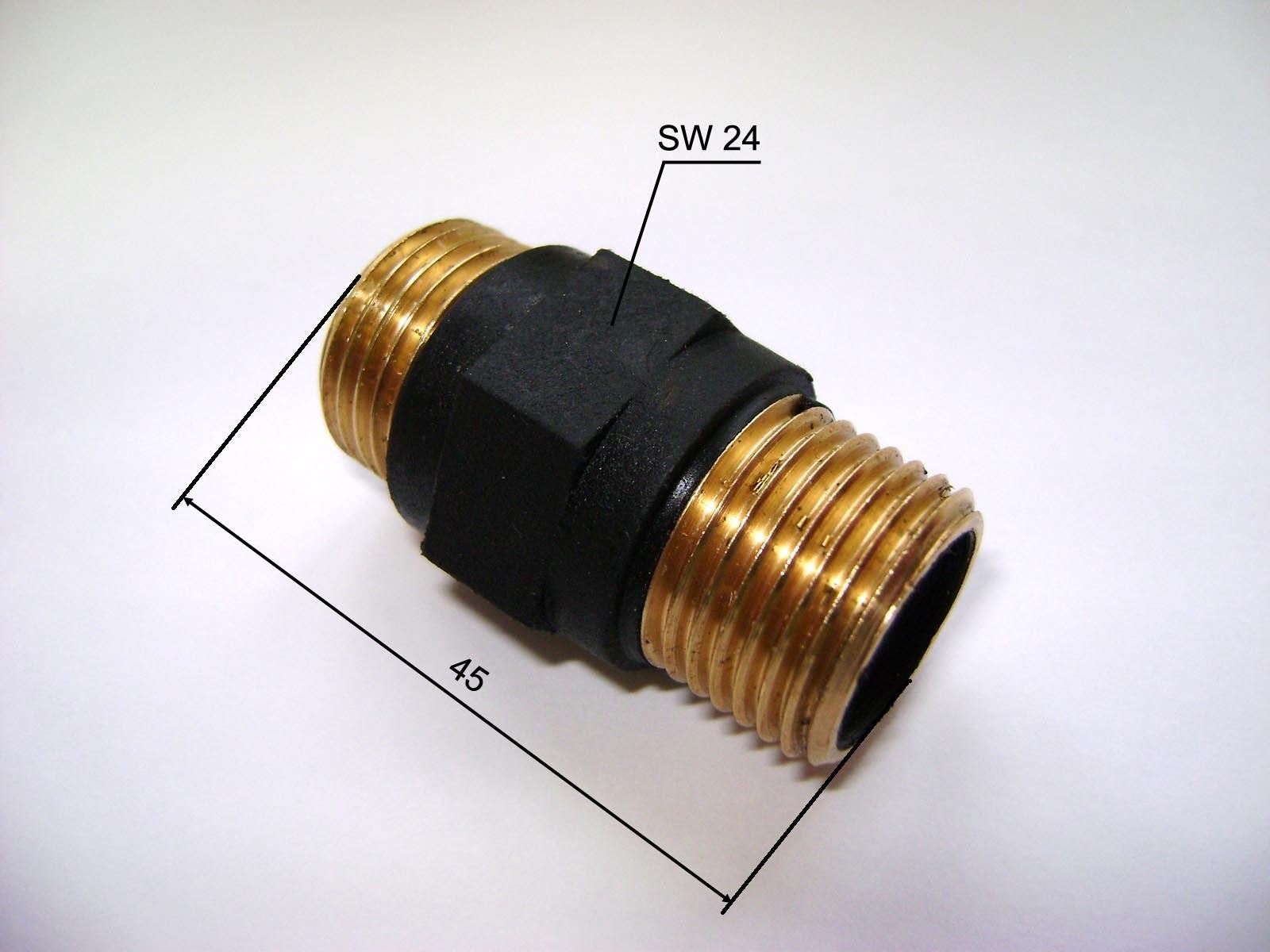 Диэлектрическая муфта для газа установка