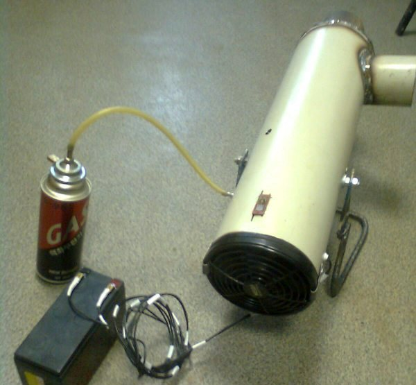 Тепловая газовая пушка своими руками: инструкция по сборке - точка j