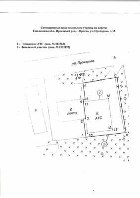 Как распечатать ситуационный план земельного участка