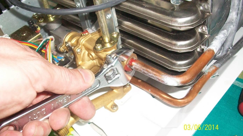 Теплообменник для газовой колонки: ремонт и чистка