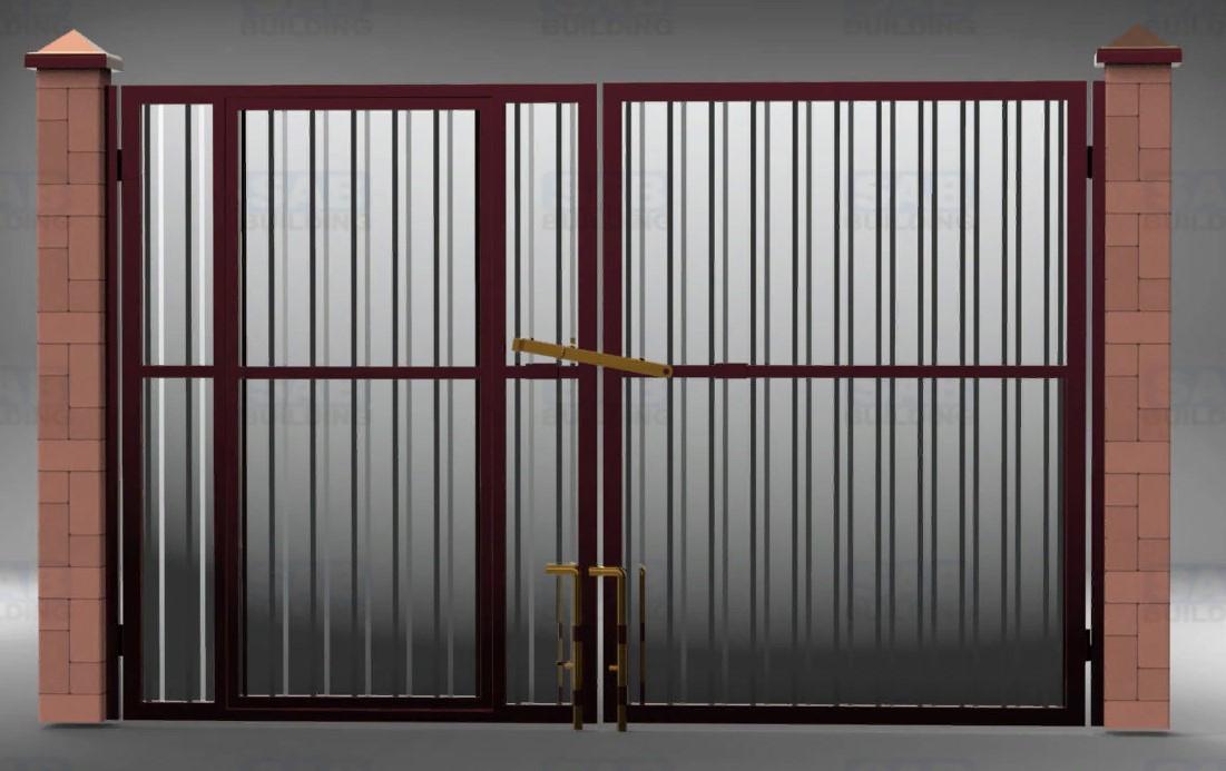 Как выбрать въездные ворота для дома