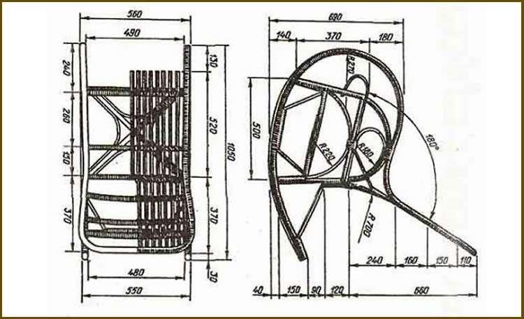 Кресло своими руками из дерева: пошаговые инструкции