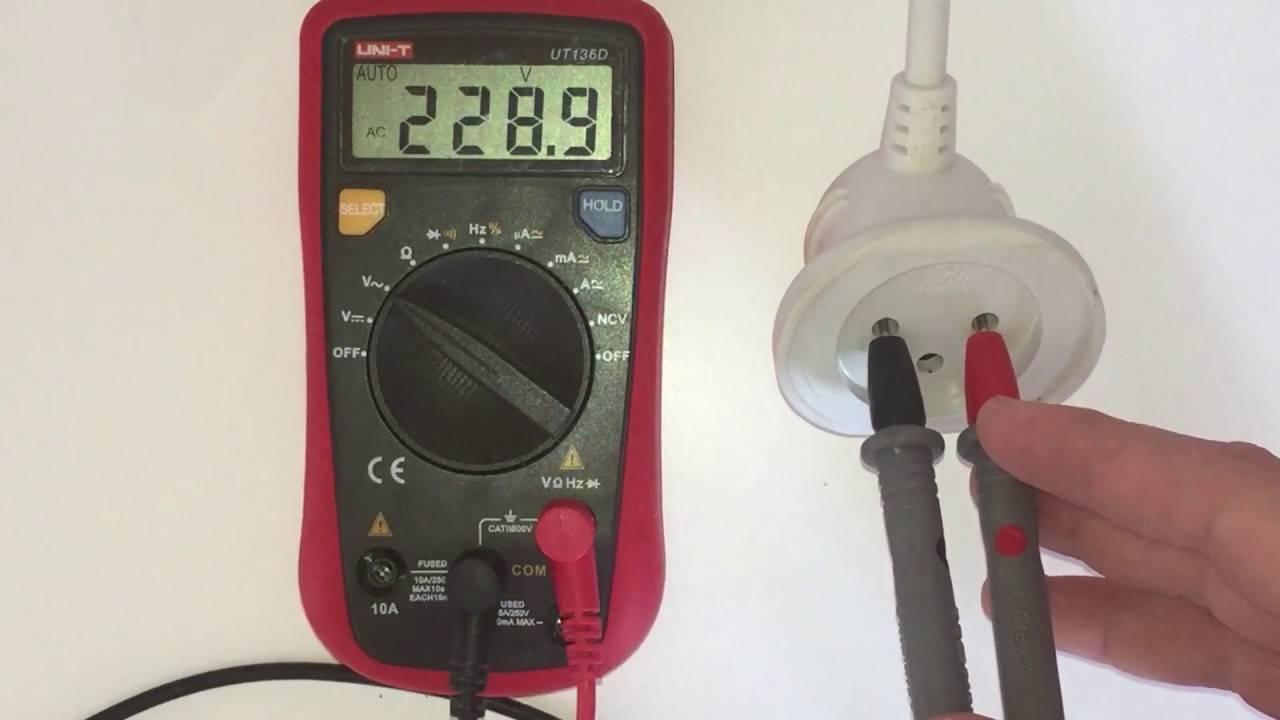 Как проверить напряжение в сети мультиметром - всё о электрике в доме