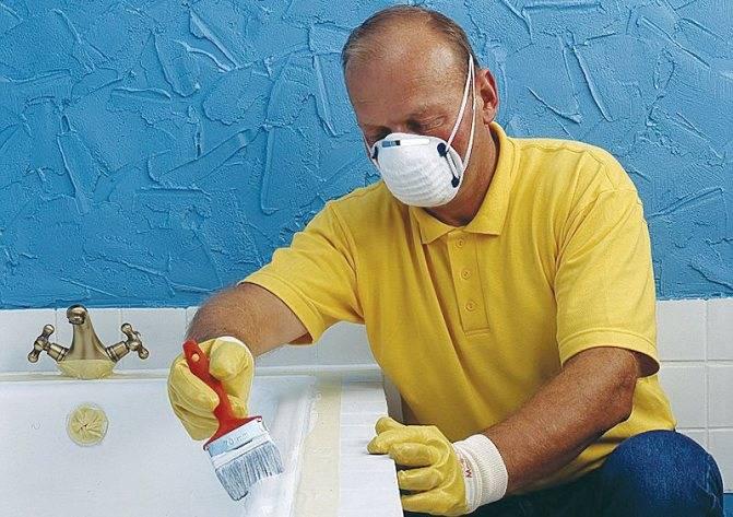 Как обновить чугунную ванну в домашних условиях – варианты реставрации, инструкция по ремонту