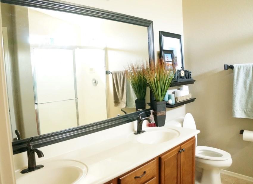 Секретное средство соседки от запотевания зеркала в ванной комнате