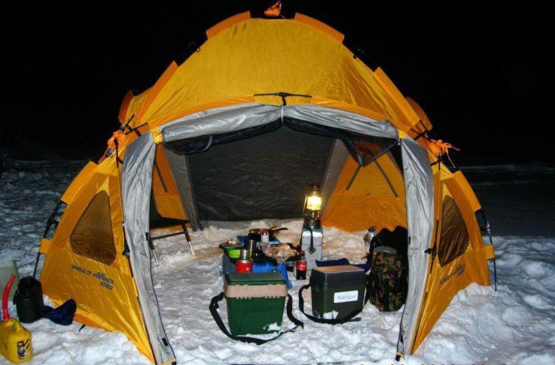Как выбрать практичный и эффективный газовый обогреватель для палатки
