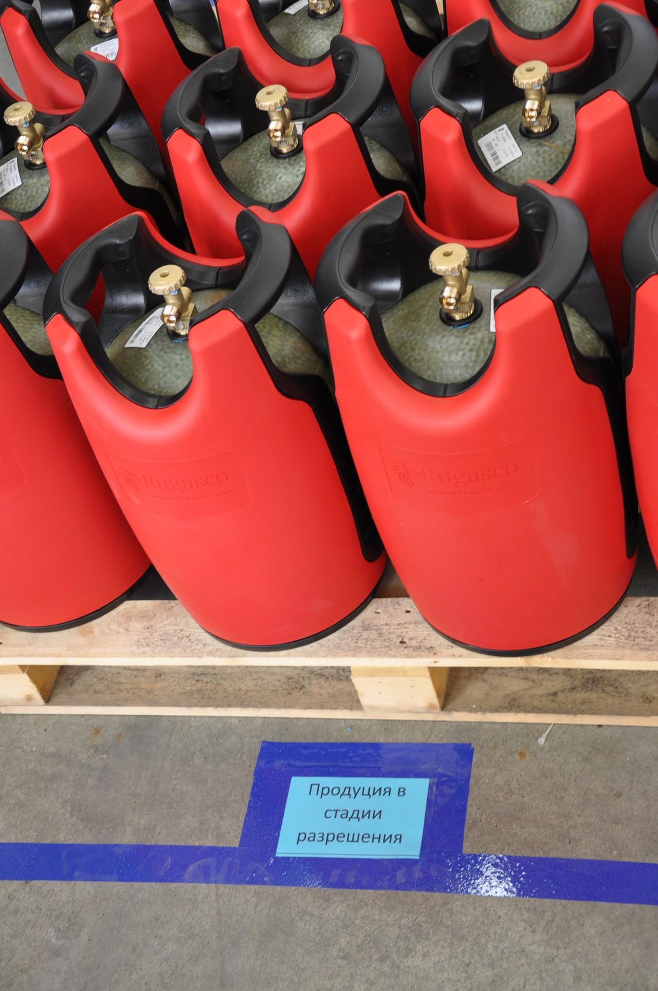 Композитный газовый баллон: преимущества использования евробаллонов - точка j