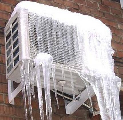 Можно ли включать кондиционер зимой на обогрев и охлаждение в квартире при минусовой температуре