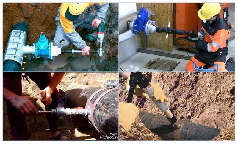 Как врезаться в водопроводную трубу под давлением своими руками