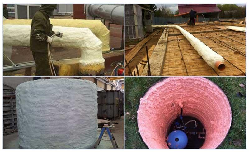 Как утеплить трубу водопровода на улице, чтобы не замерзала зимой: способы, фото, видео