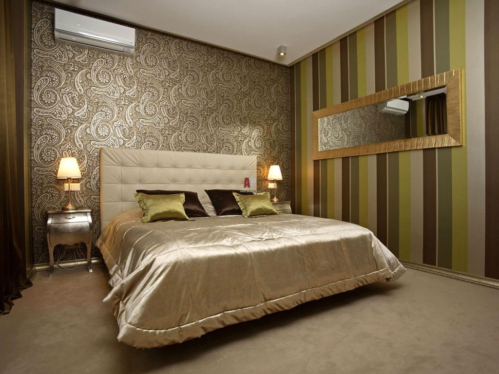 10 материалов для отделки стен спальни | строительный блог вити петрова