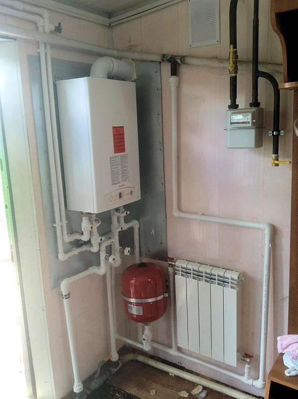 Индивидуальное отопление квартиры газовым котлом