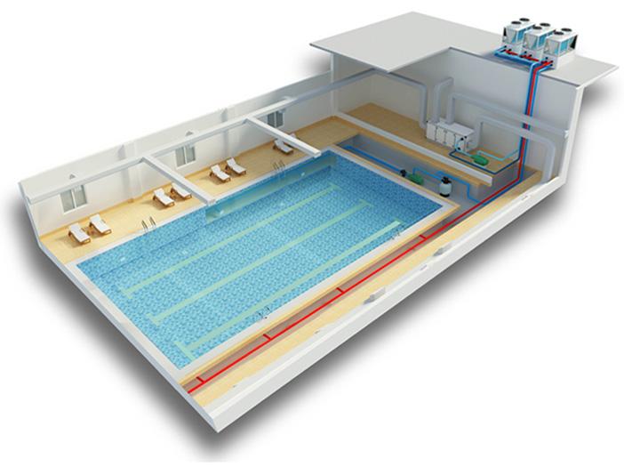 Приточно-вытяжная вентиляция для бассейна