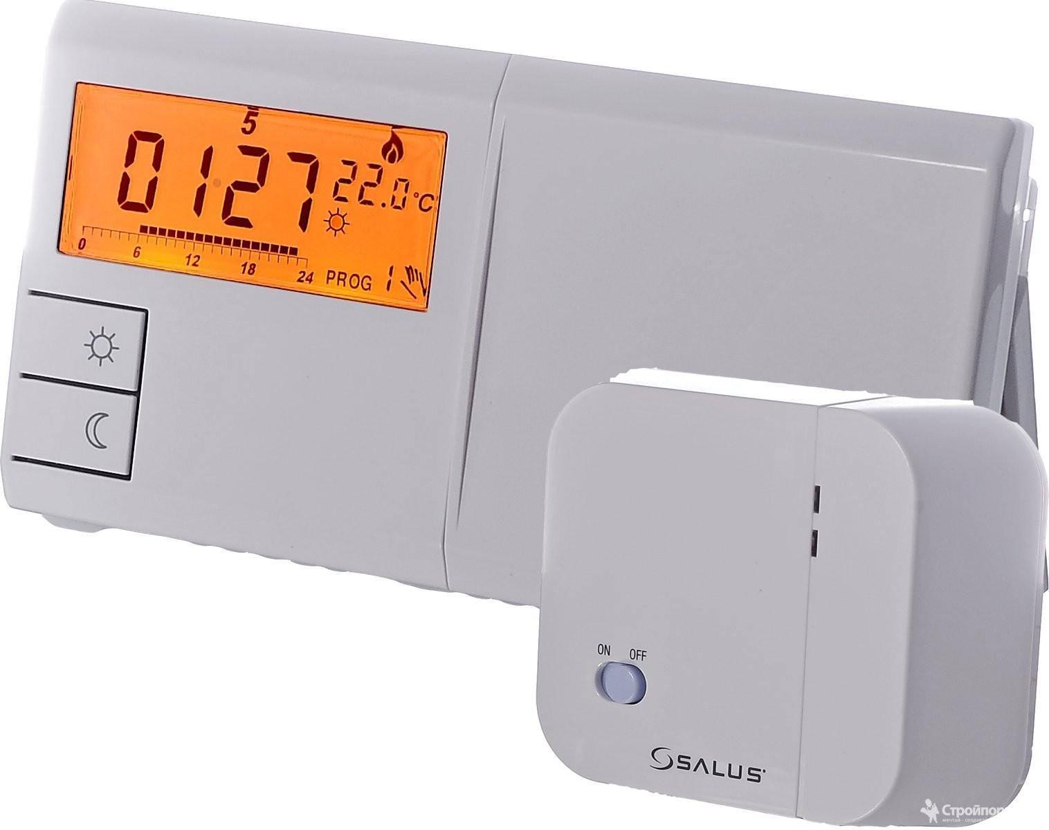 Комнатный термостат (регулятор температуры) для газового котла