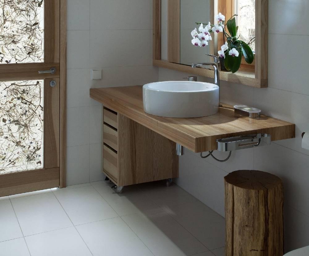 Раковина-столешница: советы как подобрать лучшую модель в современную ванную комнату (110 фото)