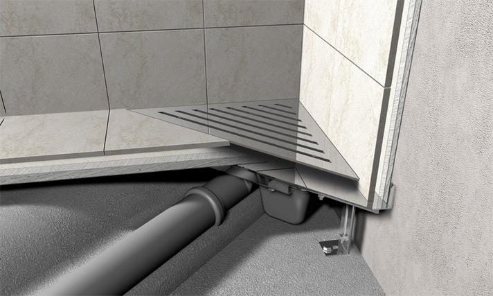 Как сделать трап для душа в полу под плитку: руководство по сооружению и установке