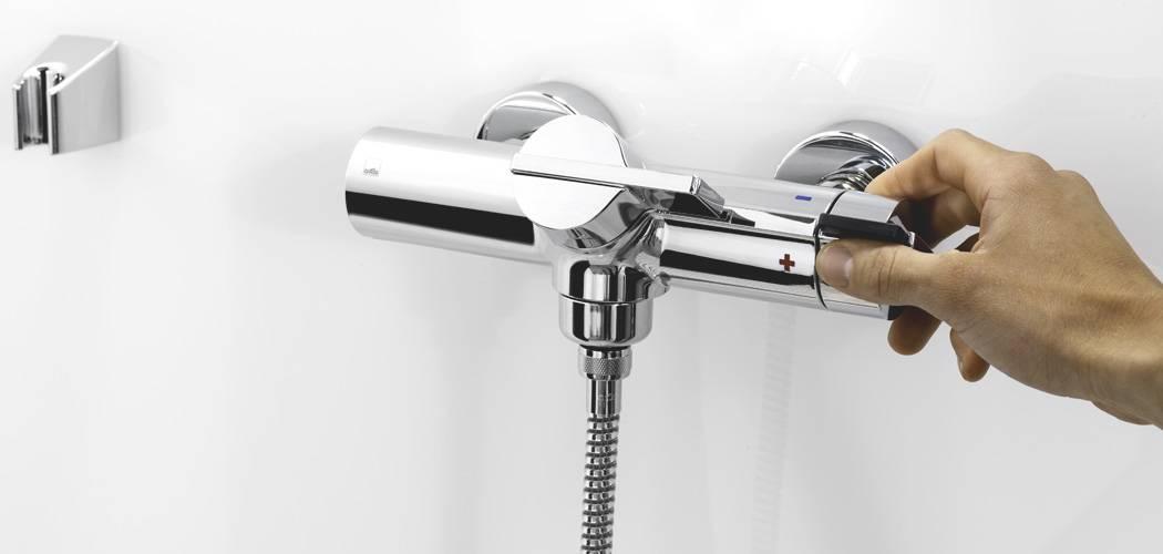 Смеситель термостатический для ванны и душа: устройство, принцип действия и правила выбора