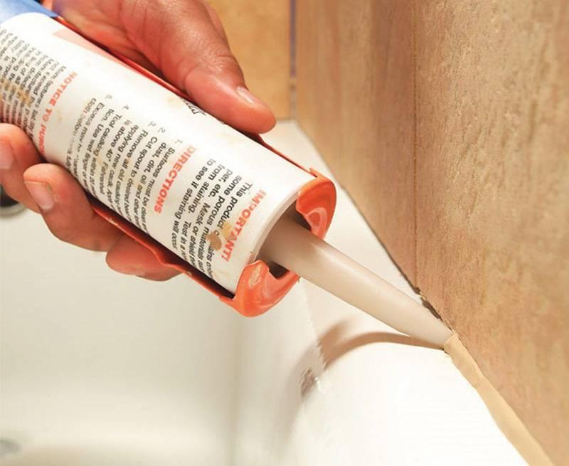 Какой герметик для ванной лучше - как использовать, удалить.