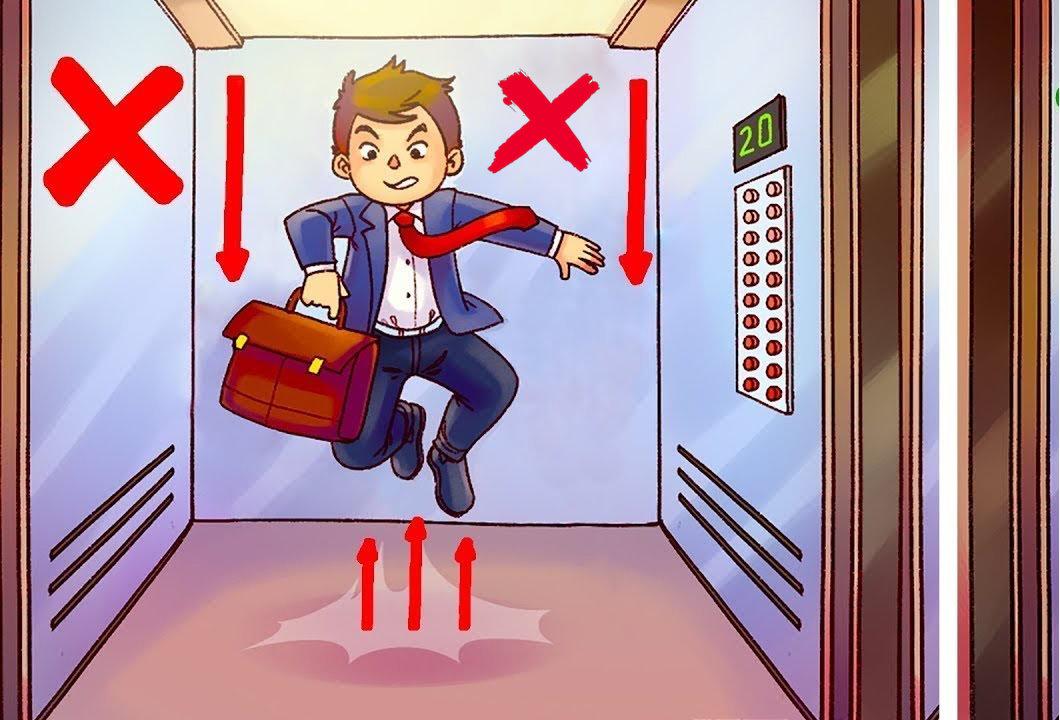 Почему нельзяпрыгать в лифте