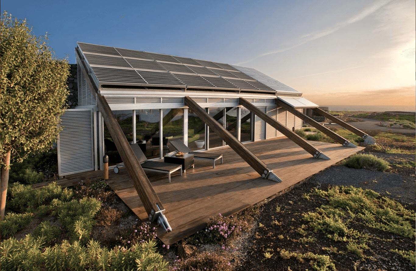 Экологически чистый дом – возвращение в будущее